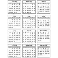 #48029 YEAR OF MEMORIES 2019 Clear Backed Sticker w//2018 Tab Calendar Unpackaged