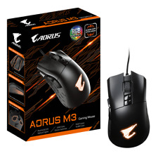 Gigabyte AORUS M3 Optical Gaming Mouse USB Wired 6400dpi 12500 fps 50g 3D Scroll