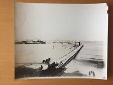 VINTAGE RARE LARGE CONSTRUCTION: Great Lakes Dredge & Dock Company Photo