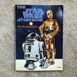 VINTAGE 1978 THE STAR WARS STORYBOOK BY RANDOM HOUSE, color photos book