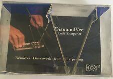 Rare Diamond Vee By DMT Knife Sharpener Made In the USA 2004 V21