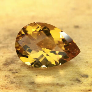 Gorgeous Orange Natural Citrine Loose Gemstone 1.72CTS Gemologist Verified
