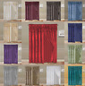 4PC LEAF DESIGN SILKY VALANCE PANEL SHEER ROD POCKET WINDOW CURTAIN TREATMENT
