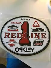 Old School OVAL BMX Number plate by OGK JAPAN -REDLINE BMX