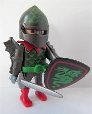 Playmobil Castle/barbarians/magic: Dragon knight figure with sword & shield NEW