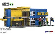 CD Modular Swedish Furniture Store Lego Custom Instructions cafe city PDF #9