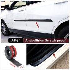 2mx5cm Carbon Fiber Black Scuff Plate Door Sill Cover Panel Step Protector Guard