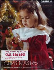 1976 WARDS MONTGOMERY WARD '76 CHRISTMAS CATALOG