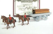 Britains Metal Toy Soldiers #5962 The Royal Engineers Pontoon Bridge Section