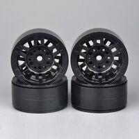 "1.9"" 27.5mm 1/10 Scale RC Model Rock Crawler Car Wheel Rims  Black 4PCS"