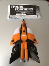 "Transformers HFTD TERRADIVE Jet Fighter to robot 6"" figure RARE!"