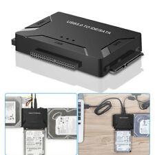"USB 3.0 to SATA IDE Converter For 2.5""/3.5"" External Hard Disk Case Box 5 GBPS"