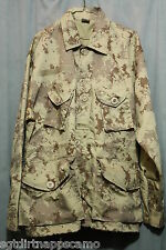 Canadian Digital Cadpat  Arid/ Desert Style BDU Smock Combat Jacket / Medium