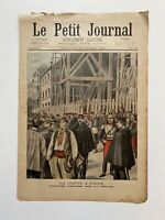 Supplément Illustré Le Petit Journal 23/10/1898, N°414, LA GREVE A PARIS