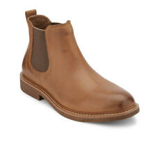 Dockers Mens Stanwell Leather Gored Slip-on Chelsea Boot