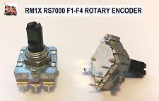 YAMAHA RM1x / RS7000 REPLACEMENT F1-F4 ENCODER POT CONTROL UK STOCK
