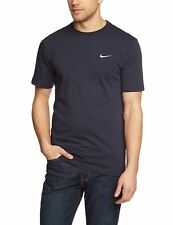 Mens Nike Basic Crew Neck T-shirts Tees 4 Colours Size S M L XL XXL Large Navy