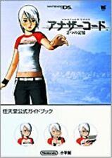Another Code Two Memories Nintendo Official Guide Book Japan 2005 OOP