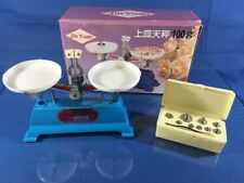 VINTAGE  BALANCE SCALES MADE IN JAPAN Jin Yuan  SCALE  100 g CAPACITY