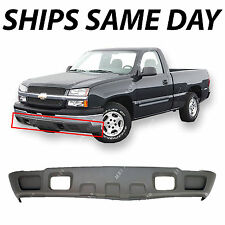 NEW Gray Lower Front Bumper Valance 2003-2007 Chevy Silverado Avalanche W/o Fog