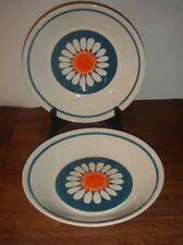 "2 x DAISY Soup Bowls TURI DESIGN Figgjo Flint Norway 21 cm  8 1/4"""