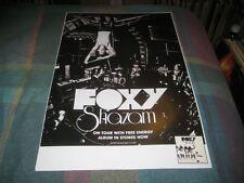 FOXY-(shazam)-1 POSTER-11X17-NMINT-RARE