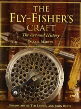 MARTIN DARREL ROD BUILDING & FLYTYING BOOK FLYFISHERS CRAFT hardback BARGAIN new