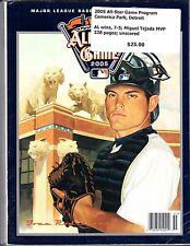 2005 MLB ALL STAR GAME PROGRAM DETROIT TIGERS IVAN RODRIGUEZ COVER