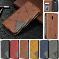 For Nokia 5.3 1.3 7.2 6.2 2.3 2.2 4.2 3.2 Splice Wallet Leather Flip Case Cover