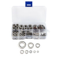 360PCS Set 304 In Acciaio Inox Assortiti Rondelle Metric Rondella Piatta