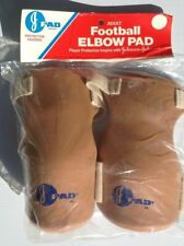 3 New Pairs Johnson & Johnson J-Pad Adult Size Elbow J Pads Sport Football Pad