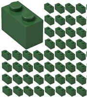 ☀️Lego x50 DARK GREEN 1x2 Bricks blocks Part Pieces Bulk Lot Legos #3004