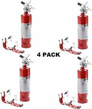 Buckeye 13315 4 Pack 25 Lb Fire Extinguisher Abc Dry Chemical Rechargeable With