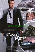 CASINO ROYALE MOVIE POSTER DS 27x40 RARE SPANISH VER. DANIEL CRAIG is JAMES BOND