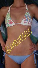 New Victoria's Secret VIX Paula Hemanny Sequin Floral Embellished  Bikini Sz XS