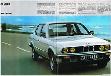 PUBLICITE advertising 1986   BMW   ligne 3 316 318I (2p)