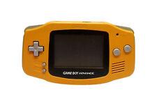 Nintendo Game Boy Advance Orange System Brand New Screen Installed!