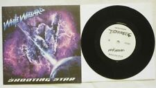 """White Wizzard """"Shooting Star / We Rock"""" 7"""" Vinyl - Dio Cover - flying tigers"""