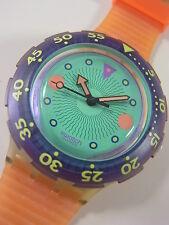 SDK102 Swatch 1991 Scuba Medusa Space Age Swiss Made