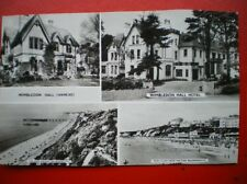 POSTCARD RP DORSET BOURNEMOUTH - WIMBLEDON HALL HOTEL 1950'S