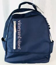 Nwt Vineyard Vines for Target Navy Blue Pink Backpack