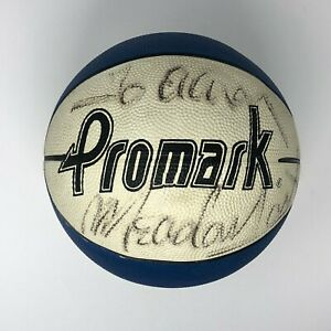 Meadowlark Lemon Autographed Signed Basketball Harlem Globetrotters Vintage