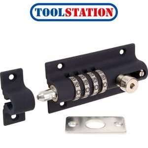 Squire 4 Combination Locking Bolt Blue