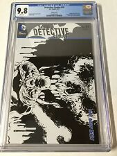 Detective Comics 10 Cgc 9.8 White Pages Sketch Variant