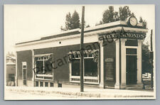 Simonds Bakery & Lunch Room MANCHESTER New Hampshire RPPC Architecture Photo 10s