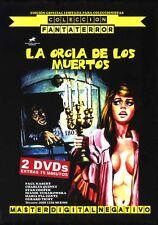 THE ORGY OF THE DEAD - LA ORGíA DE LOS MUERTOS EDICIÓN  2 DVDs PAUL NASCHY
