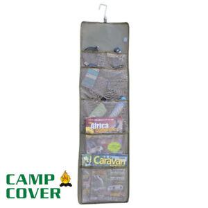 Camp Cover Tent (Camping) Organiser  - 101 x 31 cm - Khaki Ripstop - CCA012-A