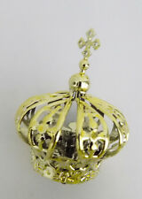 "Crown for Statues Religious Figurine Crown Plastic Diameter Base 0.98"" - 2.5cm"
