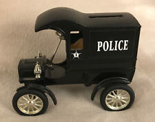 """ERTL #2561 - 1:25 """"POLICE"""" 1905 Ford Delivery Car Bank! RARE"""