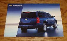 Original 2008 Chevrolet Suburban Sales Brochure 08 Chevy LS LT LTZ